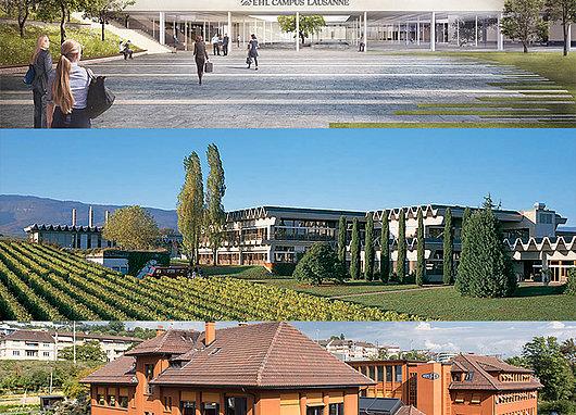 Bâtiments des hautes écoles conventionnées