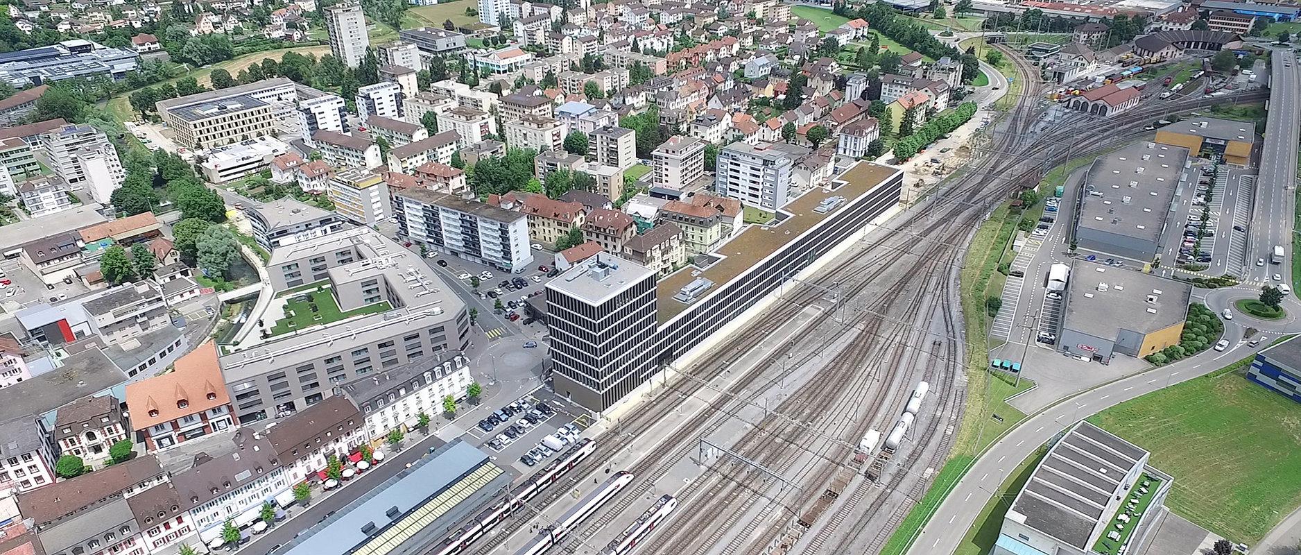 Bâtiment StrateJ Delémont