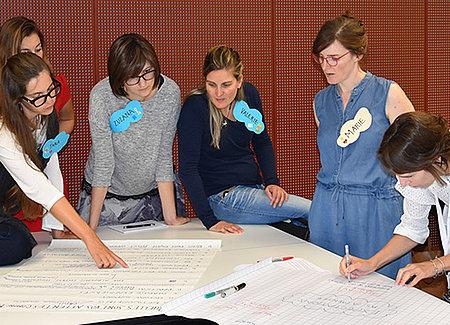 Réseau romand de mentoring pour femmes - logo