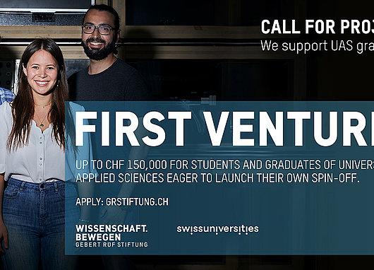Affiche First Ventures