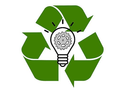 Logo Ingénieuse et recyclage