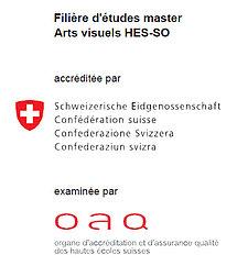 Master Arts visuels accréditation