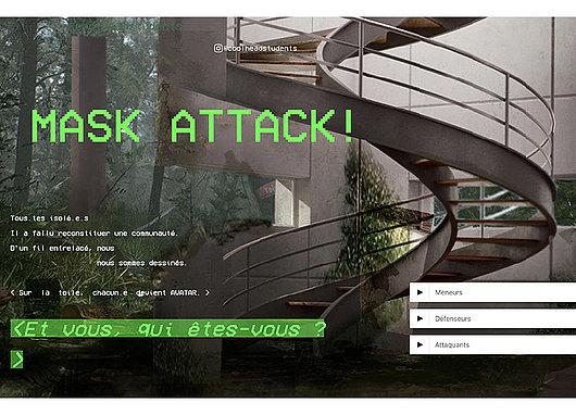 Mask Attack! L'apprentissage du tricot en temps de confinement