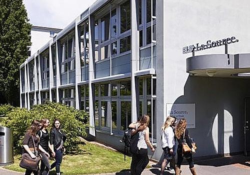 Institut et Haute Ecole de la Santé La Source Bâtiment