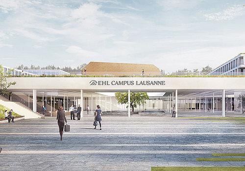 Bâtiment Ecole hôtelière de Lausanne – EHL