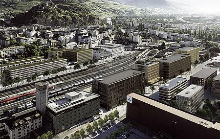 HES-SO Valais-Wallis - Haute Ecole d'Ingénierie – HEI  Bâtiment