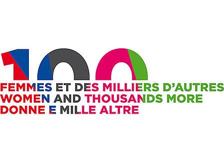 Logo 100 femmes