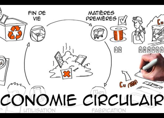 dessin économie circulaire