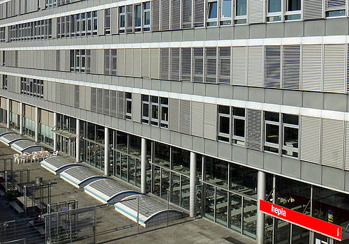 HEPIA - Haute école du paysage, d'ingénierie et d'architecture de Genève Bâtiment
