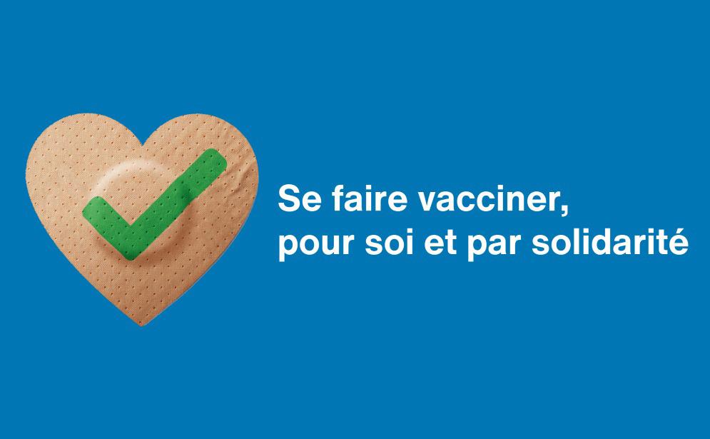 Visuel Se faire vacciner pour soi et par solidarité