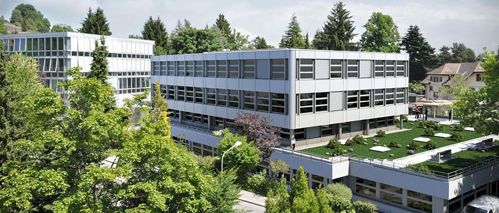 Haute école de travail social et de la santé Lausanne - HETSL Bâtiment