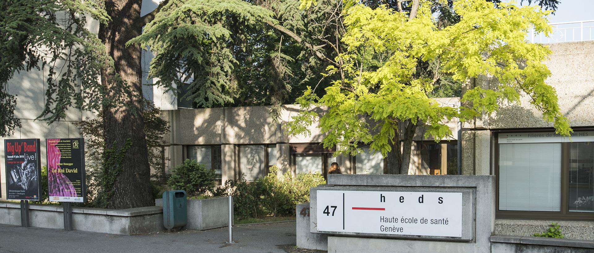 Haute école de santé de Genève (HEdS-Genève) Bâtiment