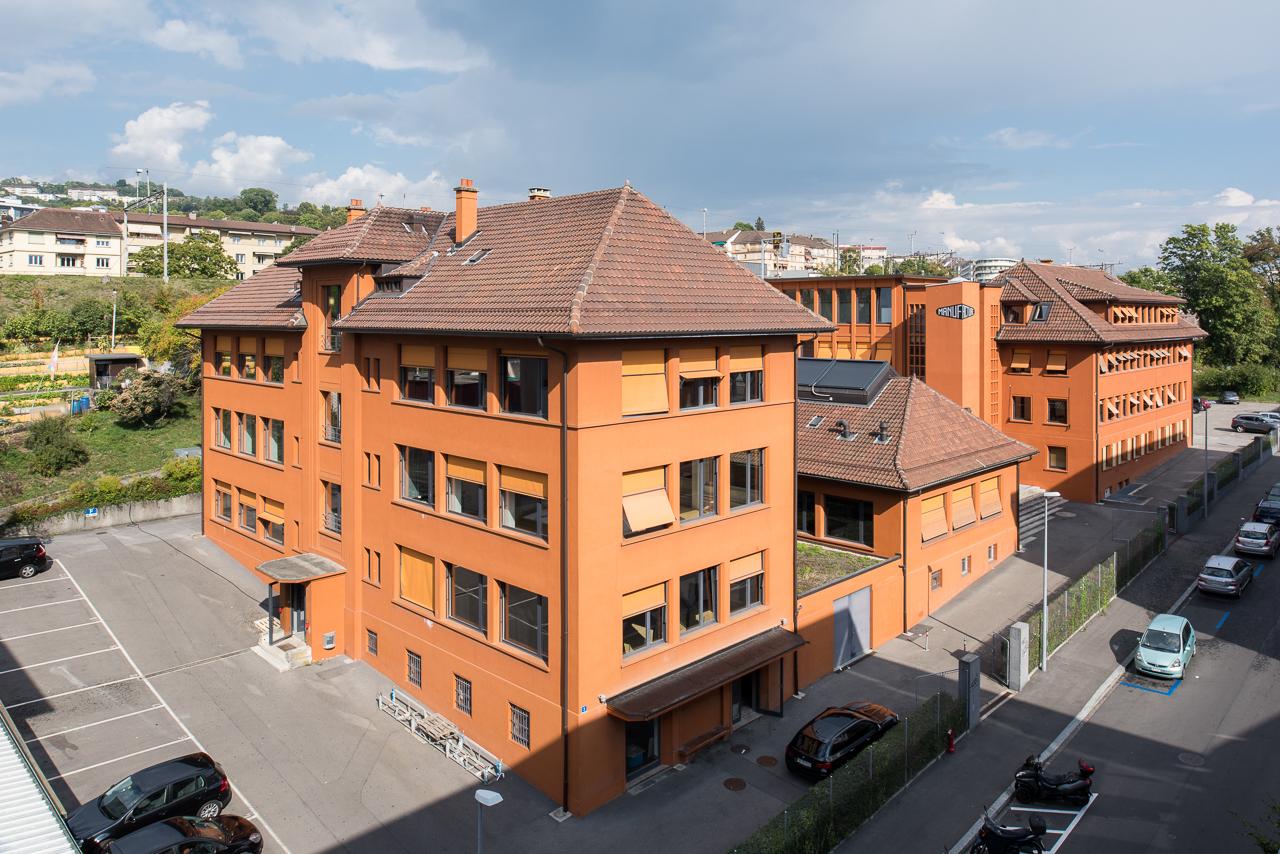 La Manufacture - Haute école des arts de la scène bâtiment
