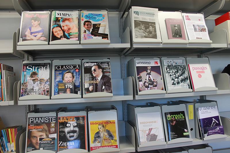 Bibliothèque HEMU - Fribourg